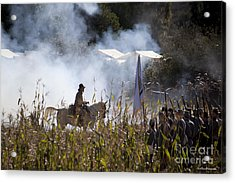 The Battle Scene Acrylic Print
