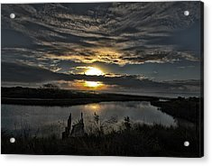 The Bay At Dawn Acrylic Print