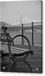 The Bay Bridge Acrylic Print