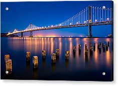 The Bay Lights Acrylic Print