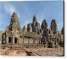 The Bayon. Angkor Thom. Siem Reap Acrylic Print