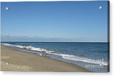 The Beach Acrylic Print