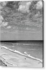 The Beach At Hobe Island Acrylic Print by Serge Balkin