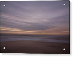 The Beach Acrylic Print by Peter Tellone
