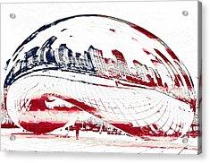 The Bean - American Icon Acrylic Print