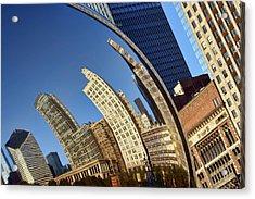 The Bean - 1 - Cloud Gate - Chicago Acrylic Print