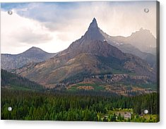 The Beartooth Mountains   Acrylic Print by Lars Lentz