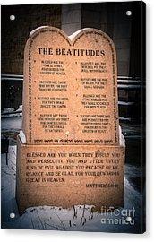 The Beatitudes Acrylic Print