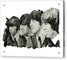 The Beatles 2 Acrylic Print by Bekim Art