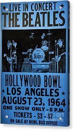 The Beatles Live At The Hollywood Bowl Acrylic Print