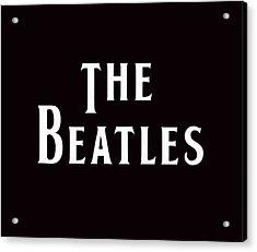 The Beatles Acrylic Print by Marvin Blaine