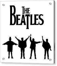 The Beatles No.06 Acrylic Print by Caio Caldas