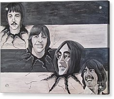 the Beatles the Roots Acrylic Print by Jeepee Aero
