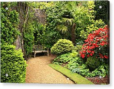 The Beautiful Garden Acrylic Print by Boon Mee