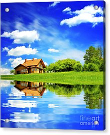 The Beautiful House Acrylic Print by Boon Mee