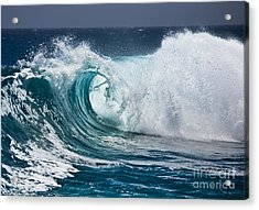 The Beautiful Wave Acrylic Print by Boon Mee