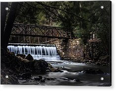The Beauty Of Clear Creek Acrylic Print