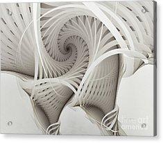 The Beauty Of Math-fractal Art Acrylic Print by Karin Kuhlmann