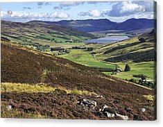 The Beauty Of The Scottish Highlands Acrylic Print
