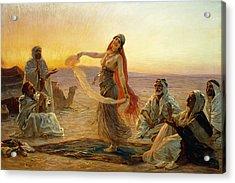 The Bedouin Dancer Acrylic Print by Otto Pilny