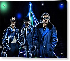 The Bee Gees Acrylic Print by Tyler Robbins