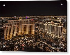 The Bellagio Casino Acrylic Print