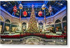 The Bellagio Christmas Tree Acrylic Print