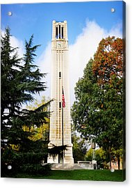 The Belltower At Nc State University Acrylic Print