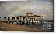 The Belmar Fishing Club Pier Acrylic Print