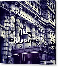 The Belvedere Acrylic Print
