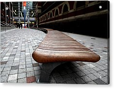 The Bench - 001 Acrylic Print