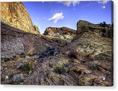 The Bend Acrylic Print by Stephen Campbell