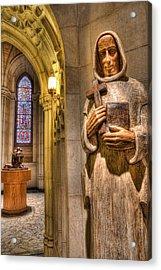 The Benedictine Order Acrylic Print by Lee Dos Santos