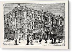 The Berlin Congress,the Kaiserhof Acrylic Print