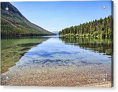 The Best Beach In Glacier National Park Acrylic Print by Scotts Scapes