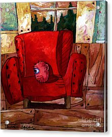 The Best Days Of My Head Acrylic Print by Charlie Spear