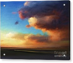 Acrylic Print featuring the painting The Best Of The West by S G
