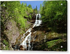 The Beulach Ban Waterfalls On The North Acrylic Print