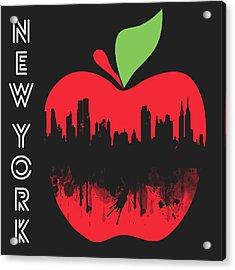 the Big Apple Acrylic Print by Mark Ashkenazi