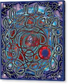 The Big Bang Grape Theory Acrylic Print