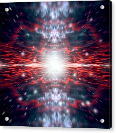 The Big Bang Acrylic Print by Marc Ward