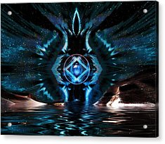 The Big Bang Acrylic Print by Mario Carini