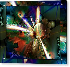 The Big Bang Acrylic Print by Robin Curtiss