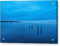 The Big Blue Acrylic Print by Donnie Smith