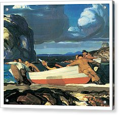 The Big Dory Acrylic Print by George Bellows