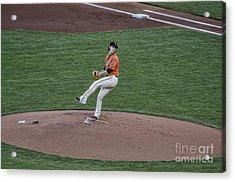 The Big Pitcher Acrylic Print by Judy Wolinsky