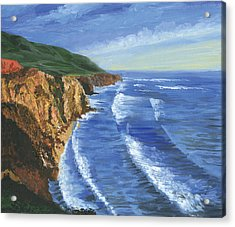 The Big Sur Acrylic Print by Harold Shull