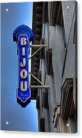 The Bijou Theatre - Knoxville Tennessee Acrylic Print