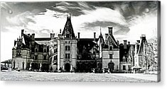 The Biltmore Estate 2 Acrylic Print by Luther Fine Art