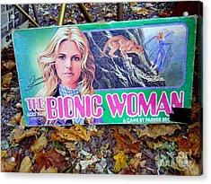 The Bionic Woman Acrylic Print